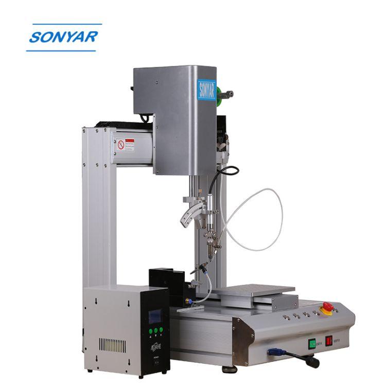 深圳松岗自动焊锡机四轴 线材焊锡机高频线路板自焊锡机