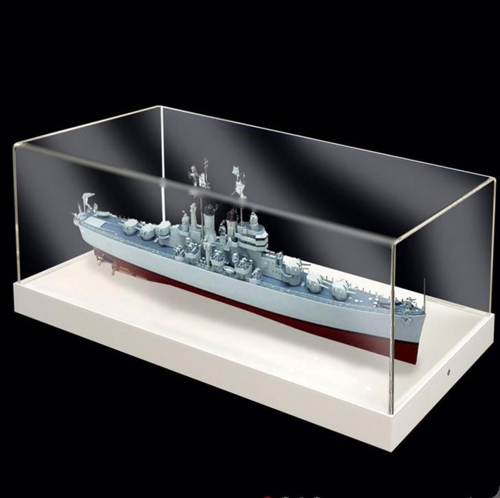 厂家定制亚克力防尘罩 模型展示盒 有机玻璃防尘罩 亚克力包装盒