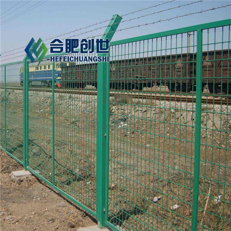 安徽桃型立柱护栏网刺绳护栏网室内边框喷塑护栏网生产厂家