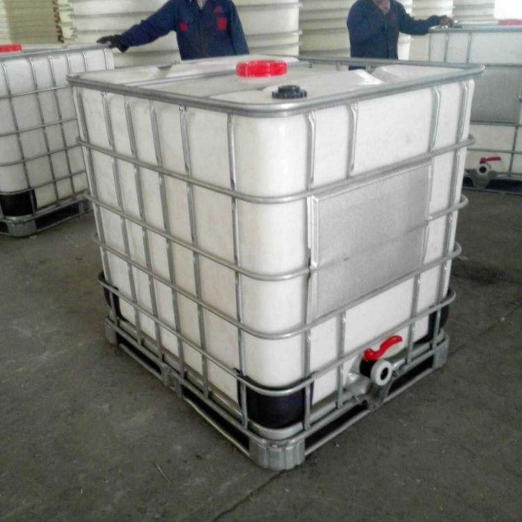 厂家直销1000L加厚带铁架全新IBC集装桶 1000升塑料平安彩票权威平台吨桶外加剂周转运...
