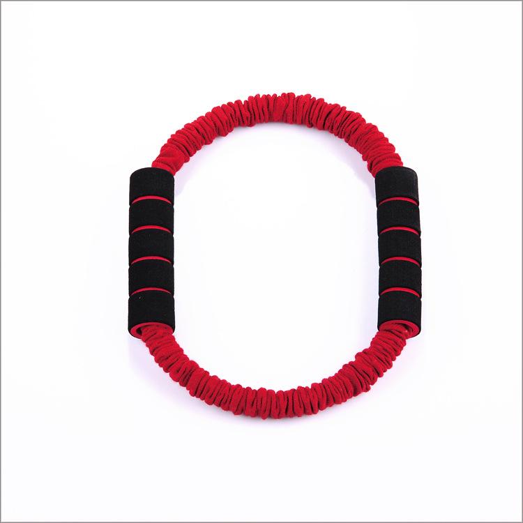 厂家直销 0字拉力器 拉力绳 瑜伽拉力器 乳胶瑜伽圈 瑜伽健身圈
