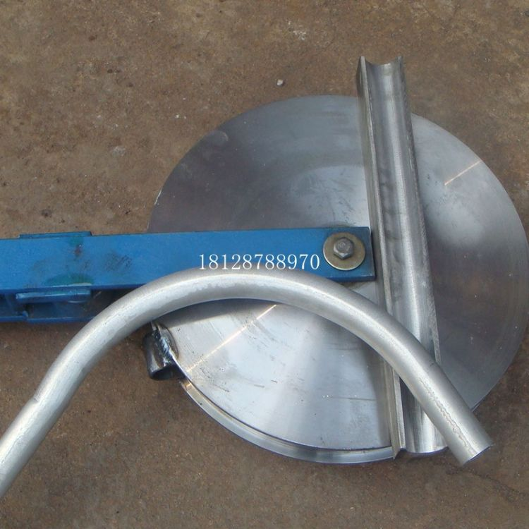 钢管弯圆机 弯管机 半人工弯弧器手板机 握弯机 轮弯机小型弯管器
