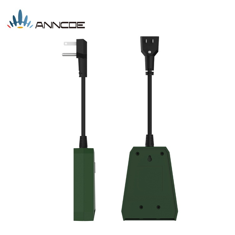 wifi智能插座 亚马逊alexa语音智能插座户外防水开关插座美规