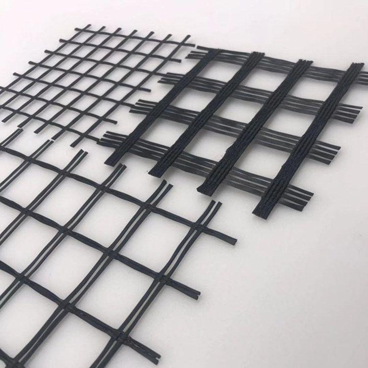 厂家自产自销双向格栅 玻璃纤维土工格栅 自粘式路面增强玻纤格栅