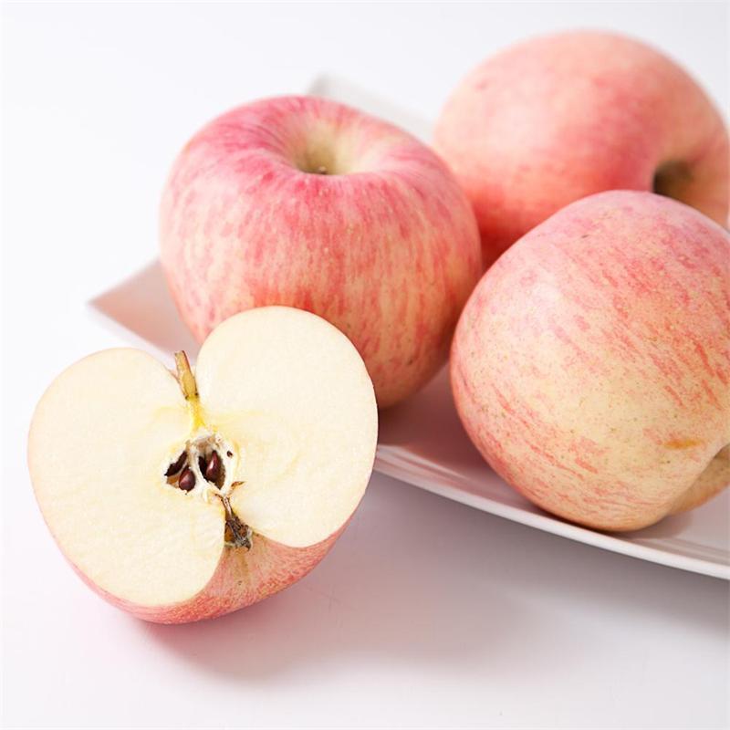 烟台苹果水果新鲜红富士山东栖霞苹果新鲜水果包邮一件代发