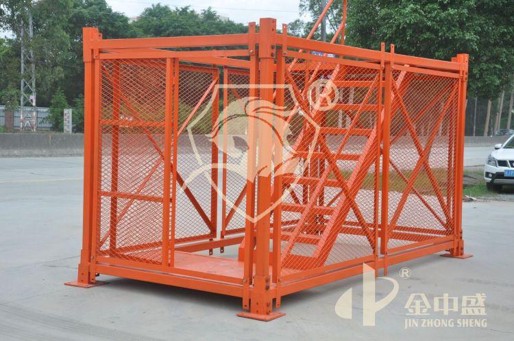 金中盛 安全工程梯笼基坑桥梁墩施工组合式梯笼-安全梯笼