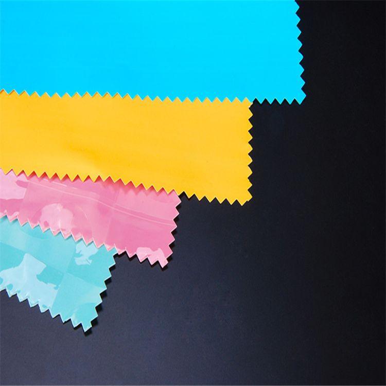 开源塑化直销供应PEVA环保复合peva双色膜面料定制