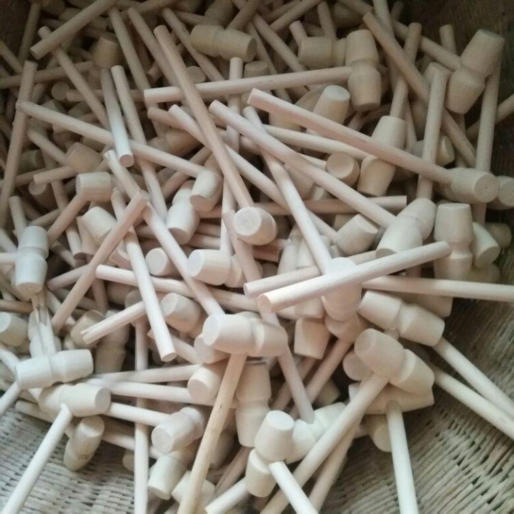 抓周 儿童玩具 家居用品 木 木棍 小木槌 法官棰 量大包邮