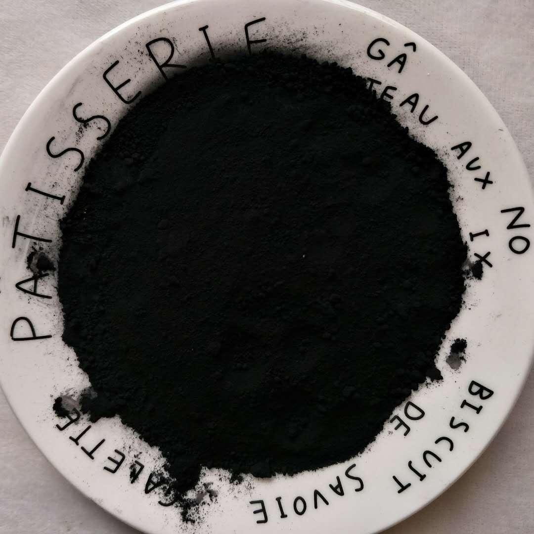 国标氧化铁黑722 透水地坪路面专用水泥色粉 氧化铁黑无机颜料