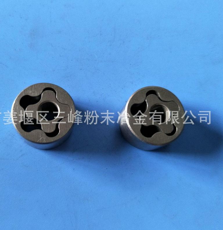 粉末冶金工艺制品 金属粉末冶金配件 粉末冶金机油泵转子加工