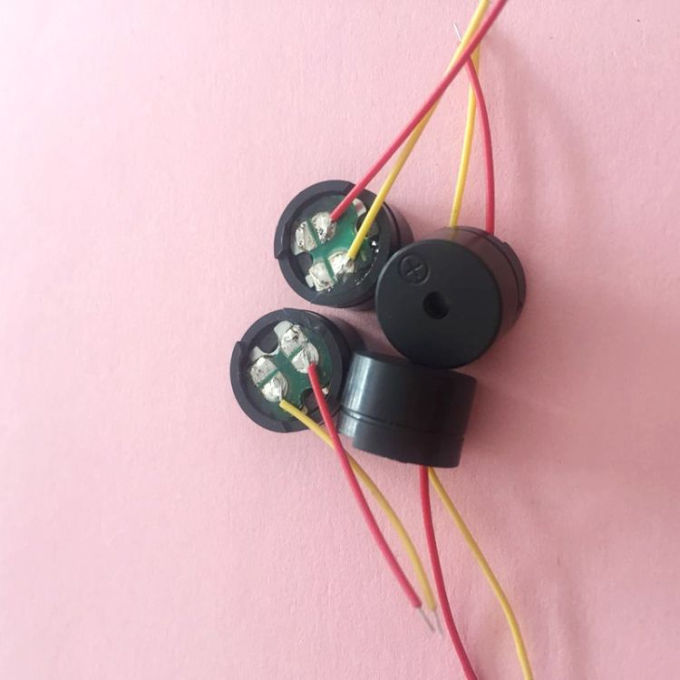 电声器件16欧分体式耐高温低电流引线蜂鸣器 厂家直销蜂鸣器