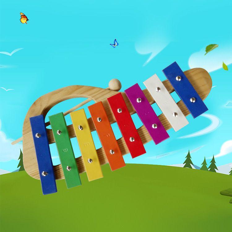 厂家直销 益智玩具 手提八音琴 打击乐器早教益智音乐启蒙玩具