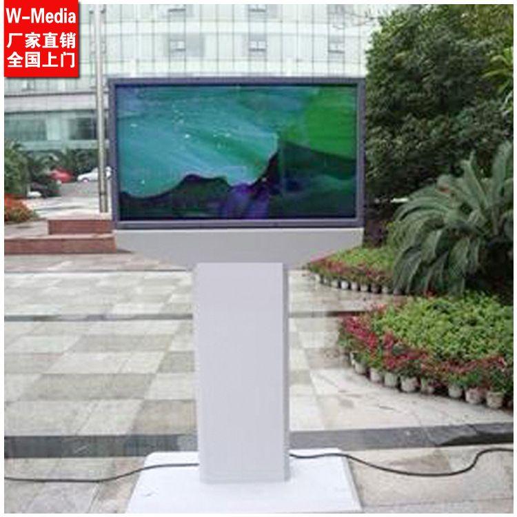 定制 32寸落地户外广告机 室外高亮防水 社区公园车站宣传显示器