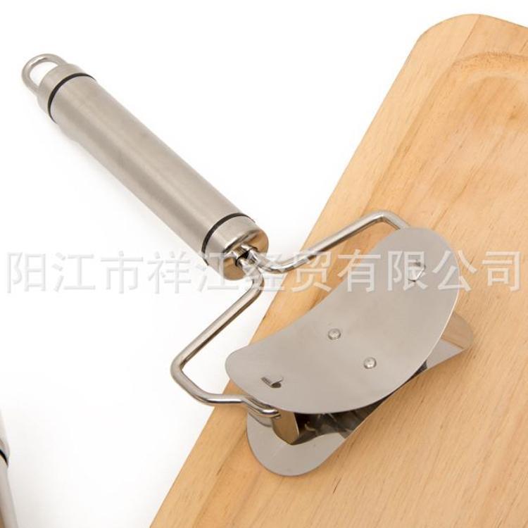 304不锈钢包饺子器饺子皮模具 饺子切皮器 手动家用饺子模具