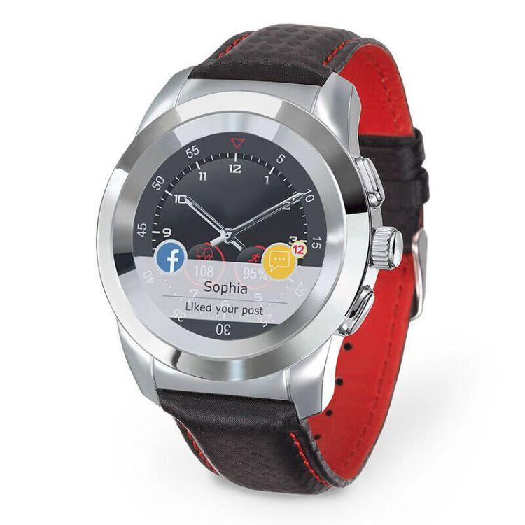 Zetime 穿孔屏智能手表 智能穿戴礼品