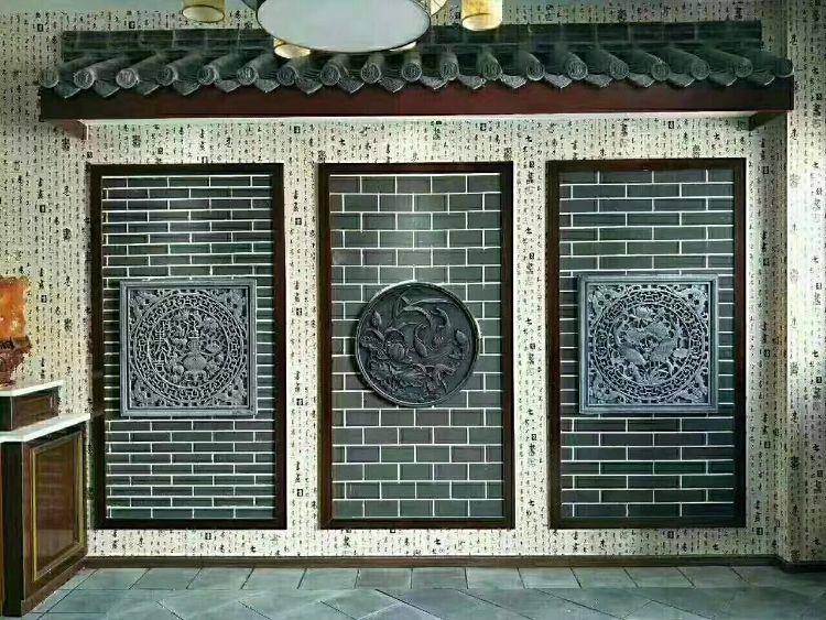古建砖雕 优质仿古地砖 砖雕厂家厂家直销仿古地砖 小青砖条