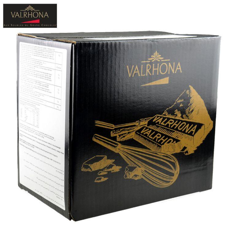 法国原装Valrhona法芙娜可可粉1kg装无糖巧克力粉烘焙脏脏包原料