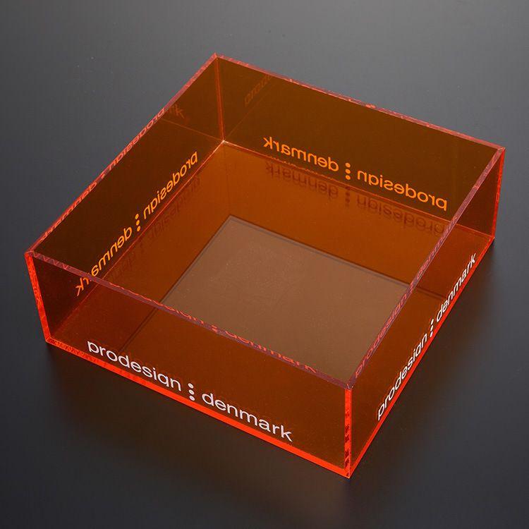 厂家定制亚克力储物箱 亚克力透明收纳盒 多层亚克力护肤品收纳盒