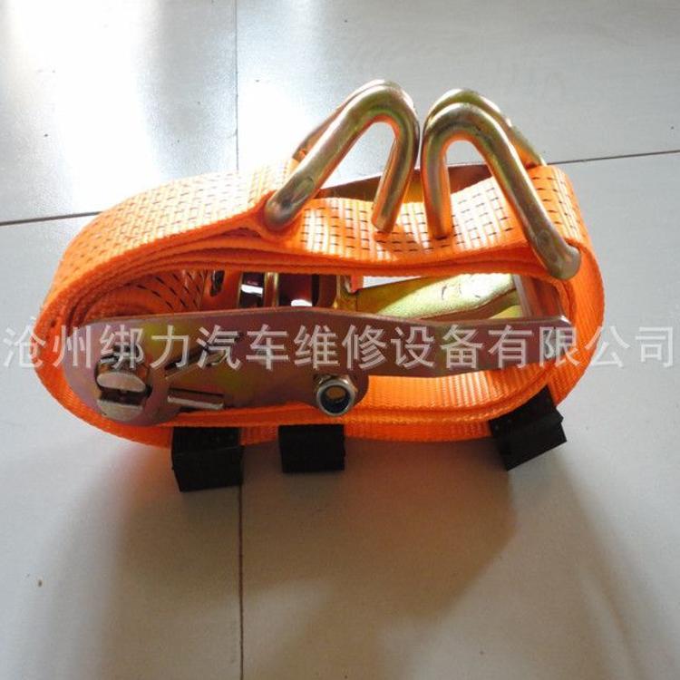 商品车捆绑带,5吨钢架 轿车紧绳器,2.5米轮胎绑带,轿车绑带