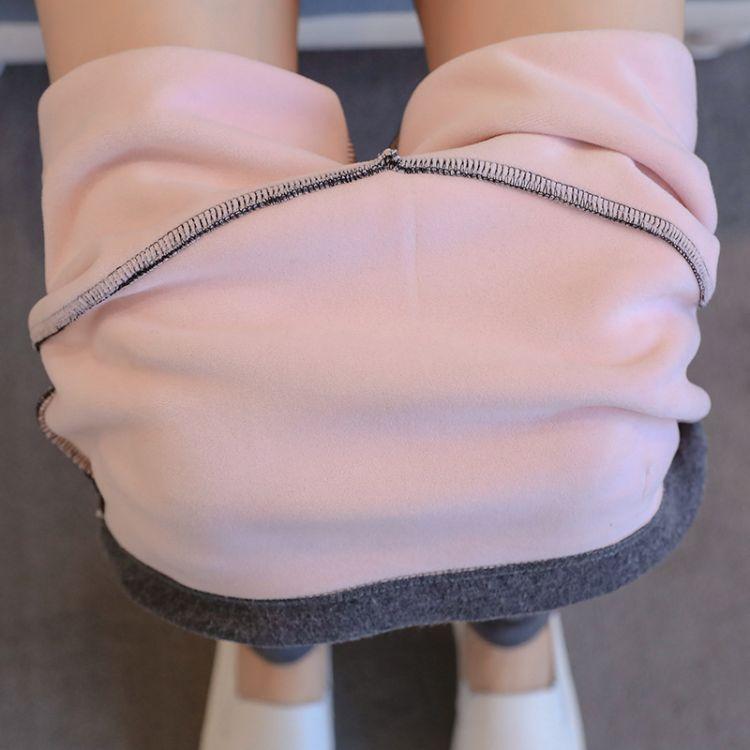 冬季822#银狐绒孕妇打底长裤托腹裤孕妇小脚裤加绒加厚孕妇装