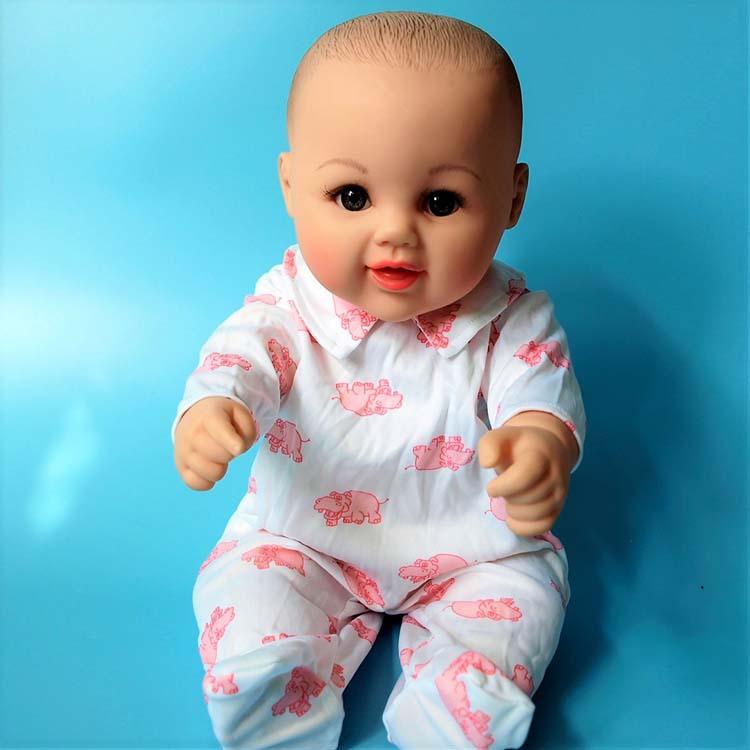48-50厘米茜茜公主 奈宝尼尔 古曼丽仿真娃娃衣服 换装包脚连体衣