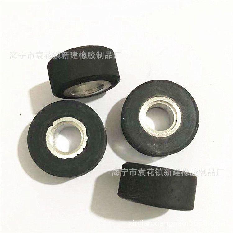 定做包铁橡胶件 带金属橡胶产品 包胶橡胶制品 带铁耐磨橡胶件