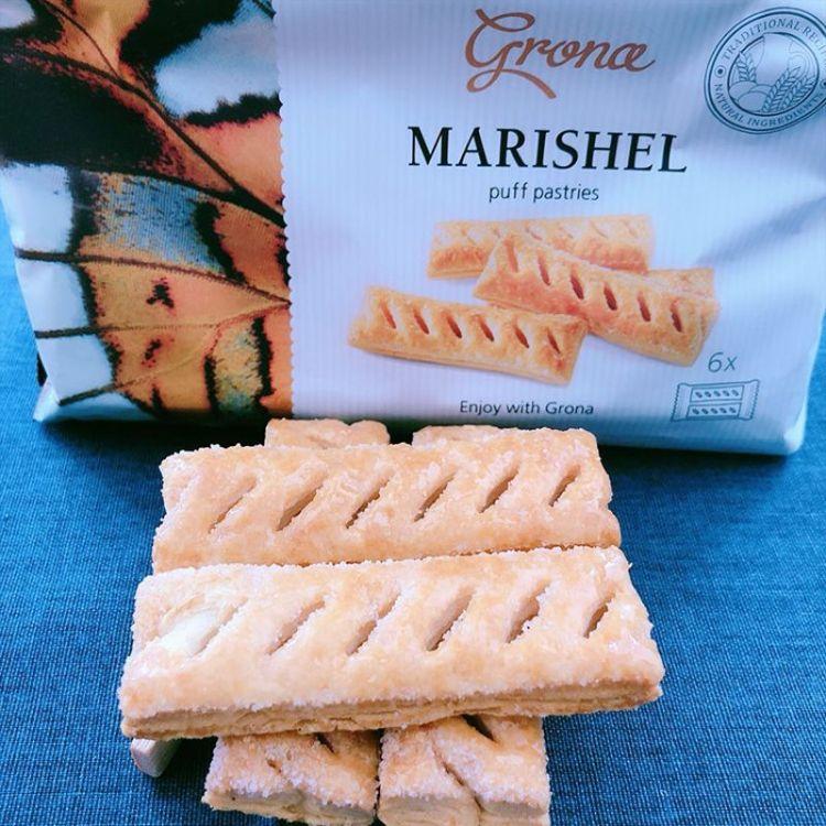 乌克兰进口食品玛瑞莎焦糖奶油千层酥 进口休闲零食 230克袋