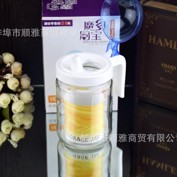 热销厨房用品单只玻璃油壶 酱油壶套装 创意广告礼品可定制logo