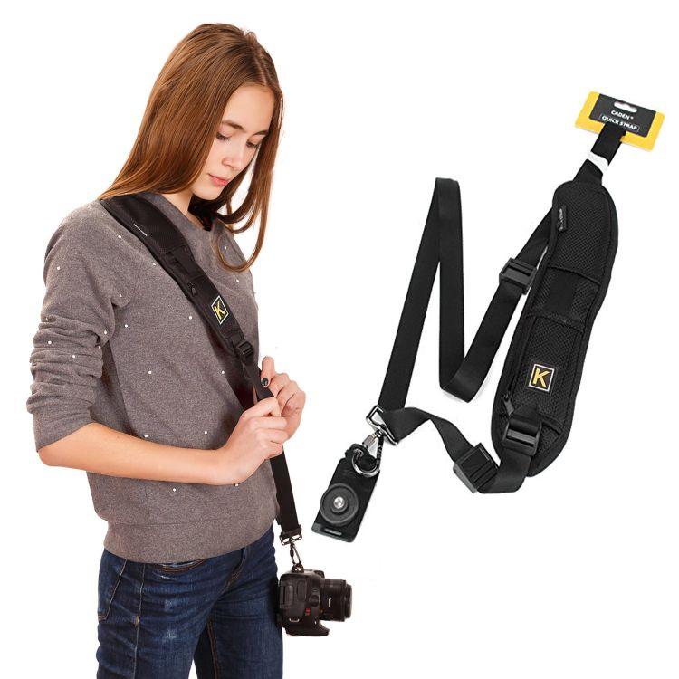 单反相机背带 快摄手K字单肩带 数码相机快射手肩带 快枪手背带