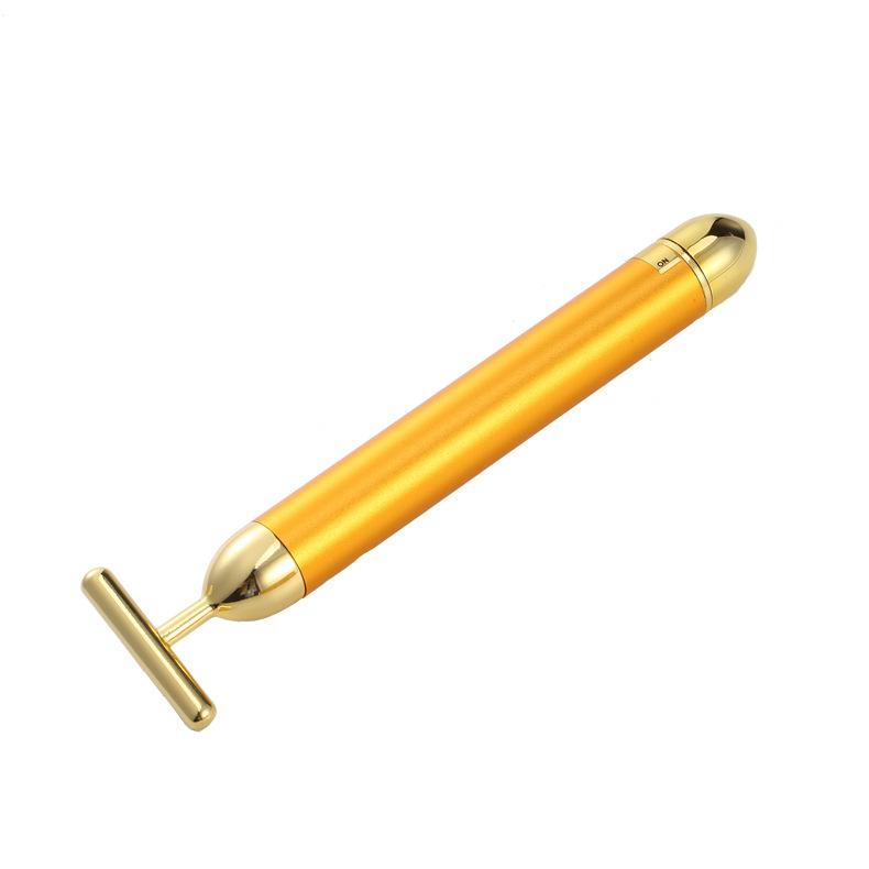 24k黄金棒 振动电动工具138刮痧仪电动刮痧仪刮痧按摩工具黄金棒
