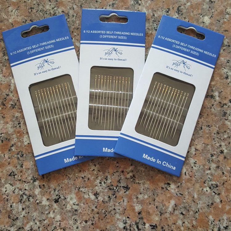 厂家直销 免穿针 不用穿线的盲人针 针线活 手缝针 缝纫针线