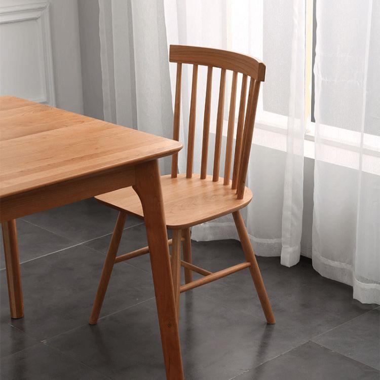 厂家直销北欧实木餐椅 现代简约小户型餐桌家用实木餐桌餐椅
