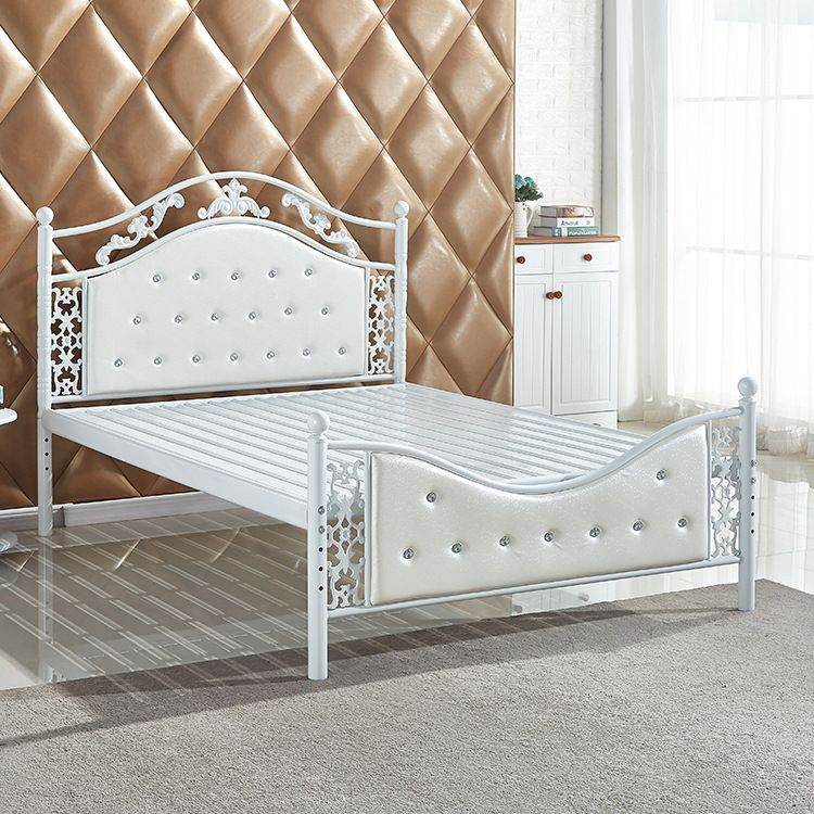 金属床双人床单人床欧式现代-双人床 金属双人床