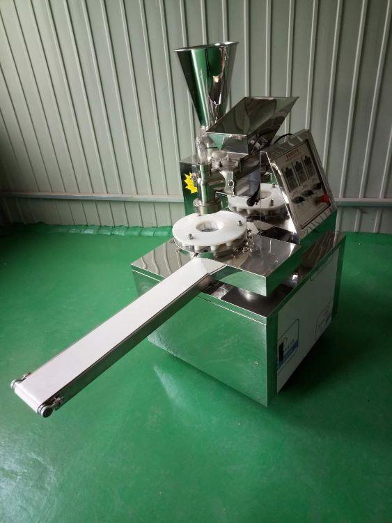 小型包子机 定制商用全自动双馅料斗仿手工12花包子机 自动包子机