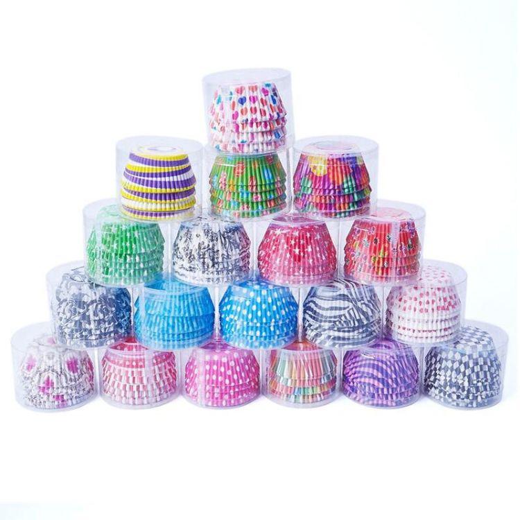 厂家直销 现货爆款系列 蛋糕纸杯 蛋糕纸托筒装约100个