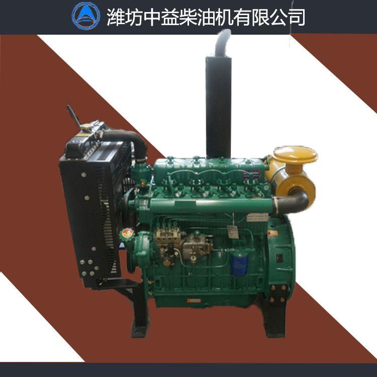 潍柴100马力柴油机 ZH4110P 固定动力马力大节油环保 全国联保