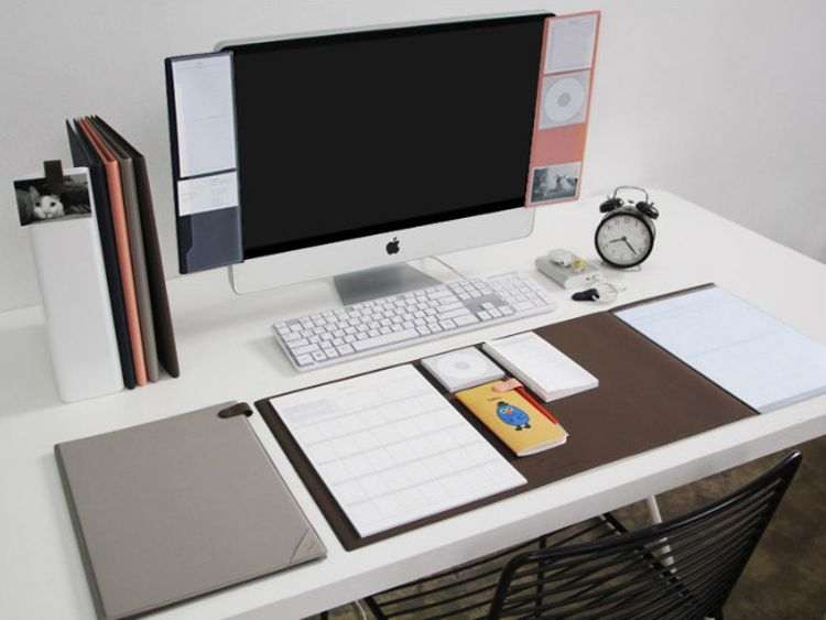 加长版简约办公桌垫鼠标垫胶垫 dual long mat    鼠标垫定制批发