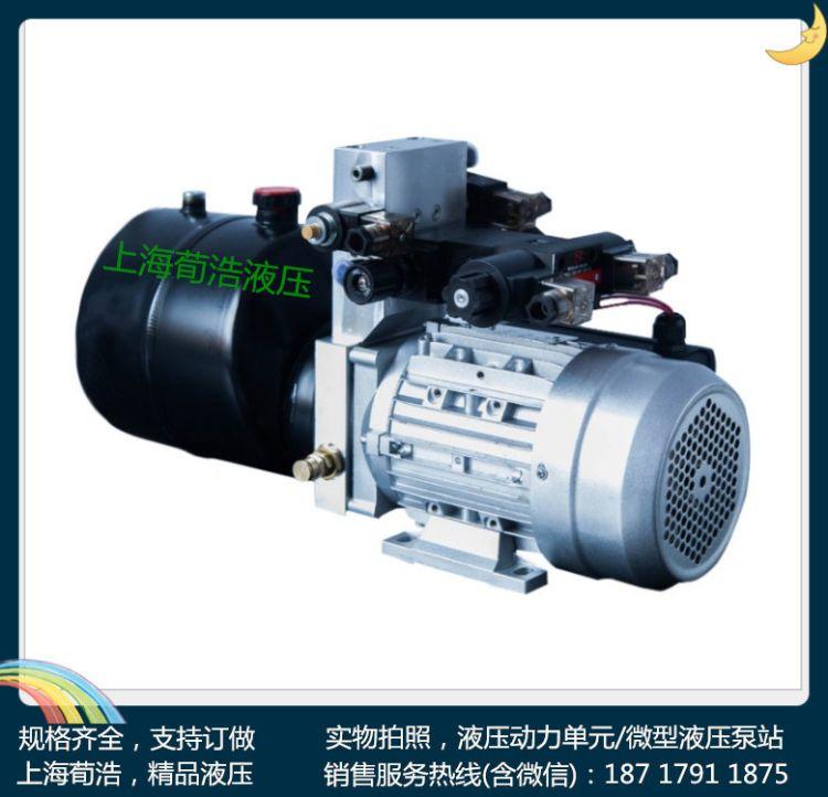 小型微型液压单元交流直流液压动力单元液压泵站动力包动力站