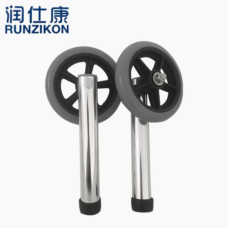 厂价直销医疗轮 万向轮脚轮锻钢脚轮 助行器轮组