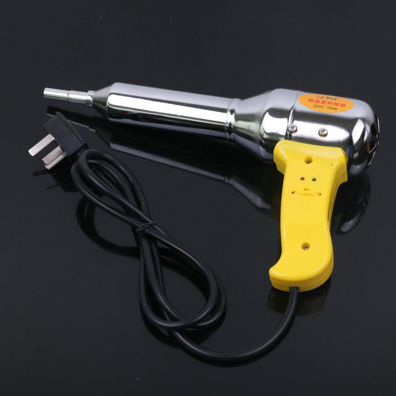 供应 调温热风枪 塑料焊枪500W工业汽车贴膜带风热塑枪送发热芯
