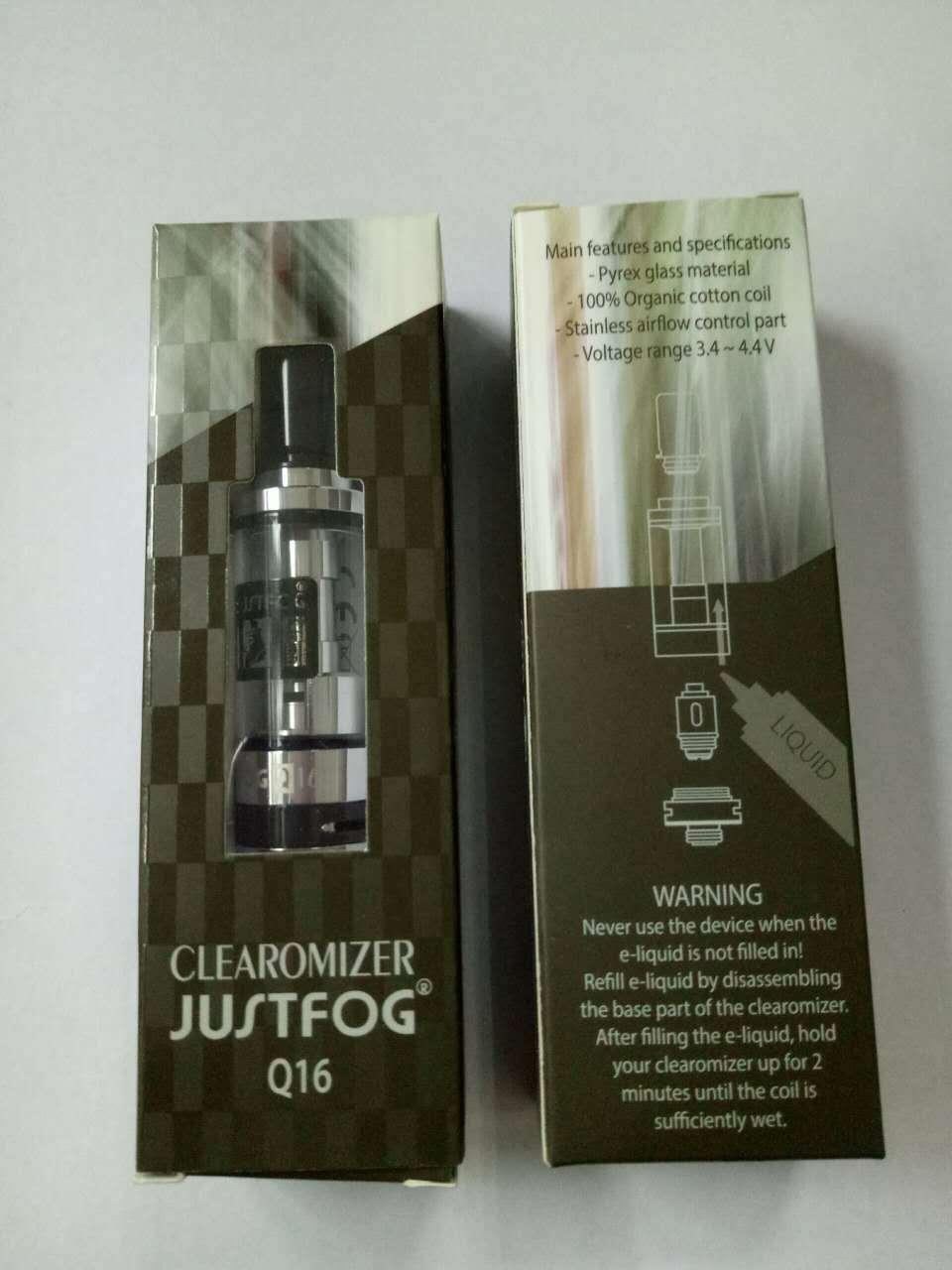 电子烟雾化器 Justfog q16原装正品雾化器 支持官网验证扫码