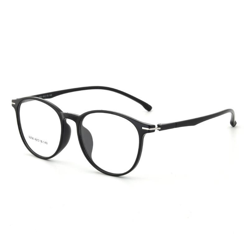 特價超輕純黑色男女通用眼鏡架廠家直銷批發丹陽tr90眼鏡架