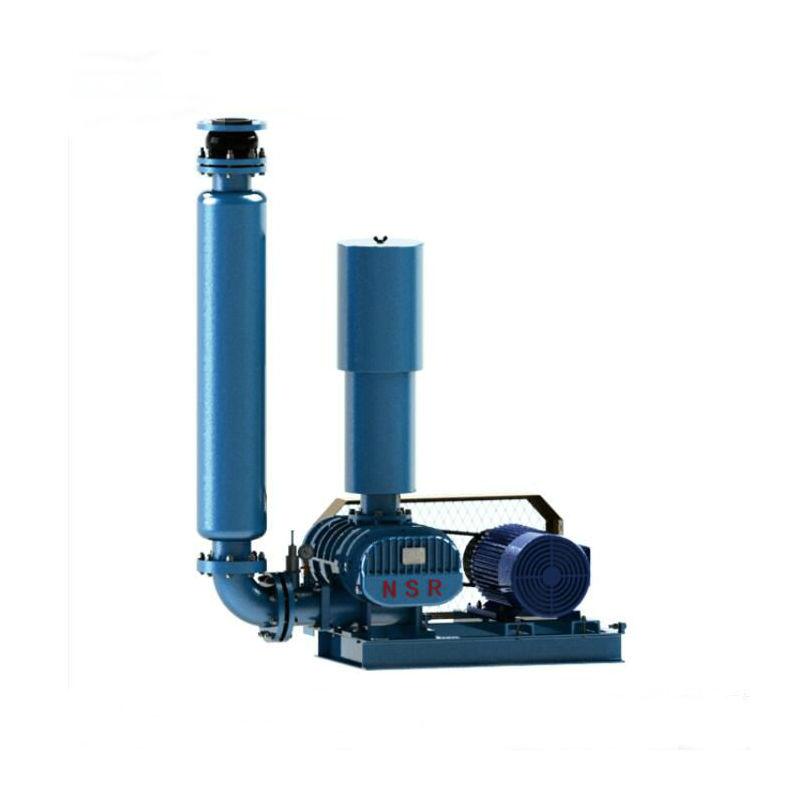 可定制NSR150 II型罗茨风机 双油箱风机 污水处理罗茨鼓风机