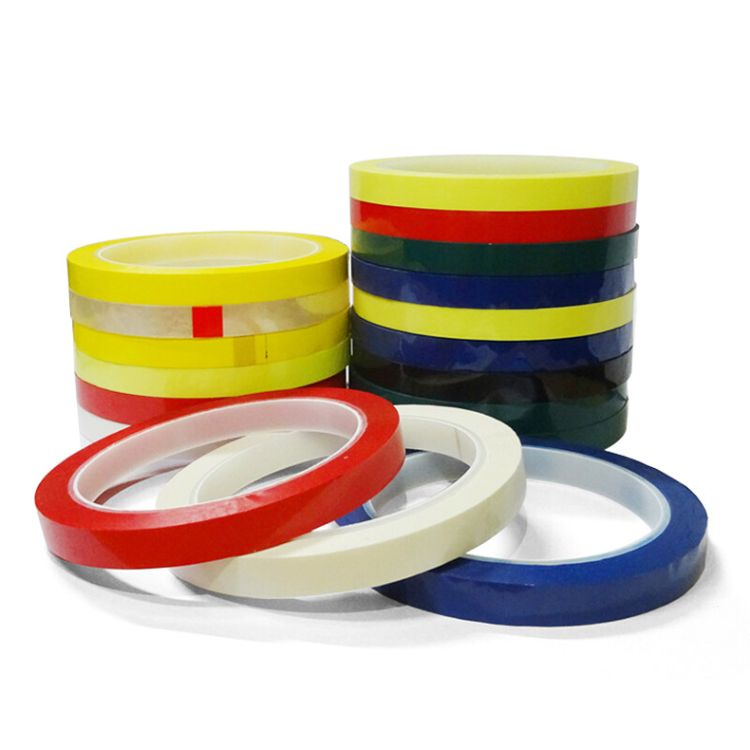 厂家直销全色玛拉胶带 绝缘耐高温固定保护麦拉胶带马达胶带定制