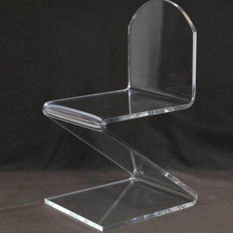 专业亚克力厂家定制亚克力家具 透明亚克力椅子家居用品靠背椅子