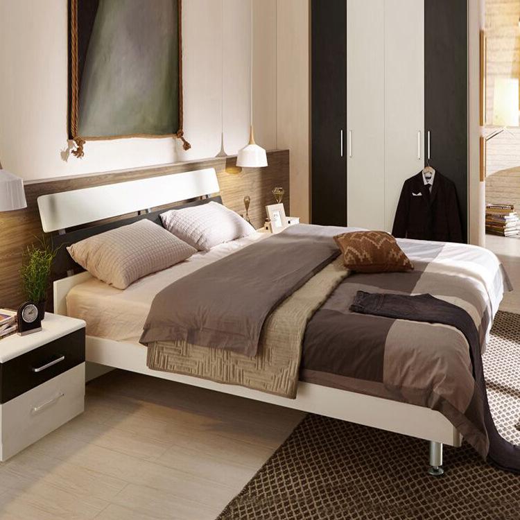 乔帝儿童卧室成套批发板式家具套装板式床成人双人床单人床儿童床