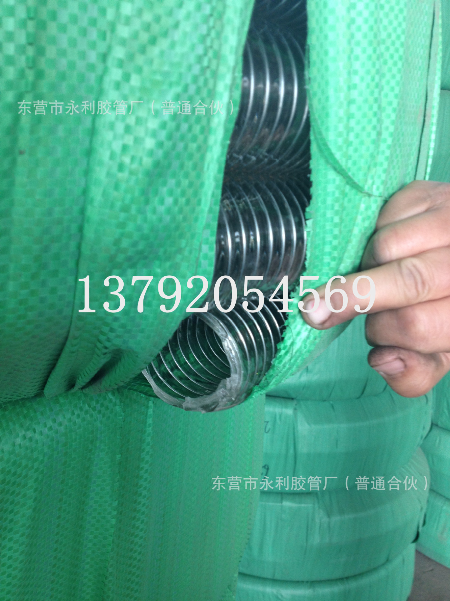 钢丝螺旋管 透明钢丝管16-300m输水输油专用pvc防静电钢丝管