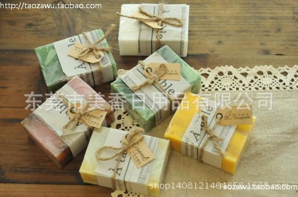 香皂厂家批发艾草菊花香皂 精油冷制皂手工洁面皂艾草精油香皂