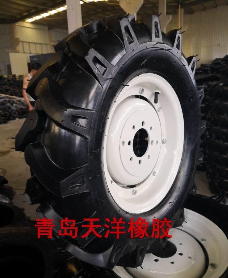 700-12,拖拉机轮胎,微耕机轮胎,可变轴距轮毂