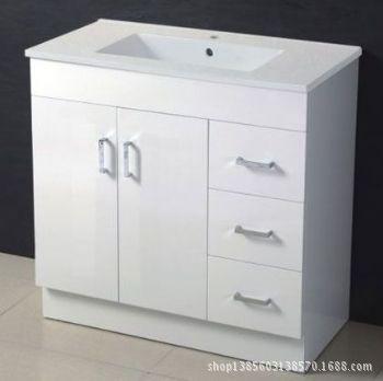 MDF浴室柜-出口卫浴家具-高亮光浴室柜